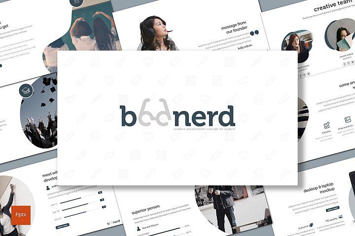 Boonerd - Powerpoint Template