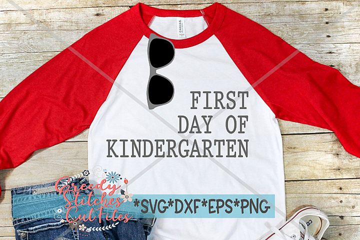 First Day Of Kindergarten SVG | Back To School SVG