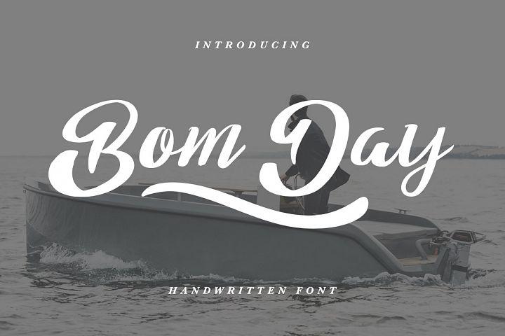 Bom Day Font