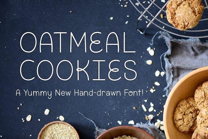 Oatmeal Cookies example image 1