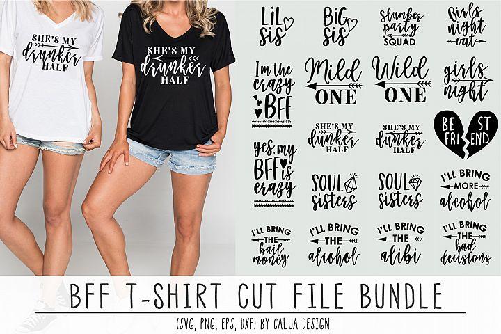BFF T-shirt Cut File Bundle