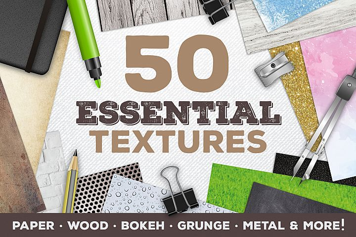 50 Essential Background Textures