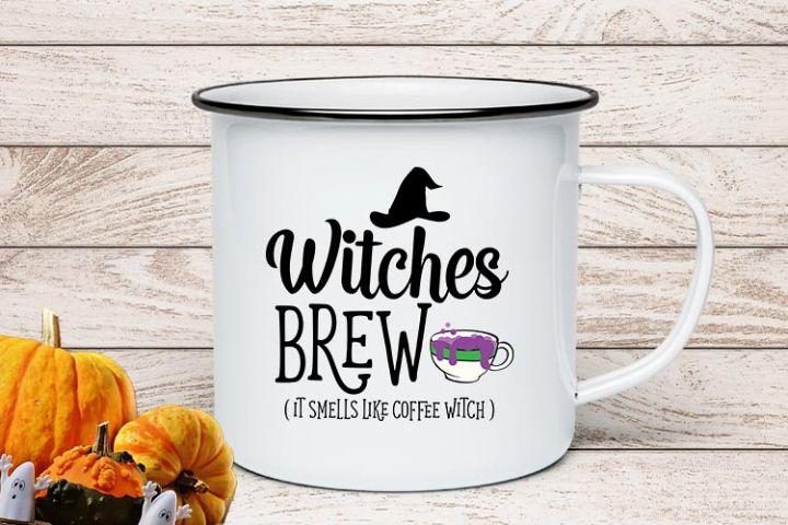 Witches Brew Halloween SVG
