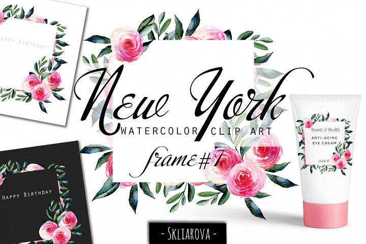 New York. Roses frame #1