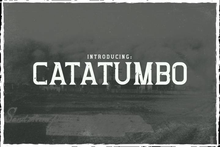 Catatumbo Font