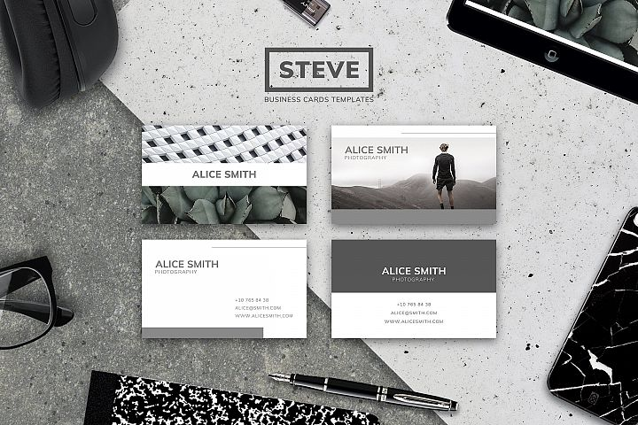 STEVE | BUSINESS CARD TEMPLATES