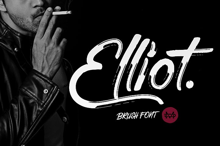 Elliot Brush Font