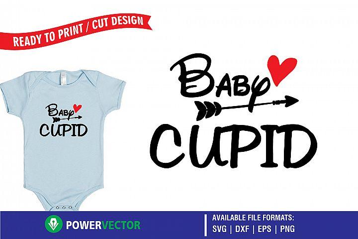 Baby Cupid - A Valentine SVG