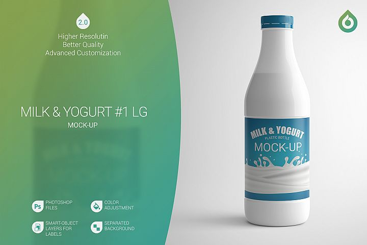 Milk & Yogurt LG Mock-Up #1 V2.0