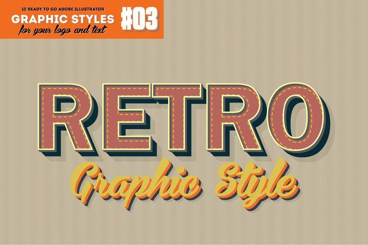 10 Retro Graphic Style for AI