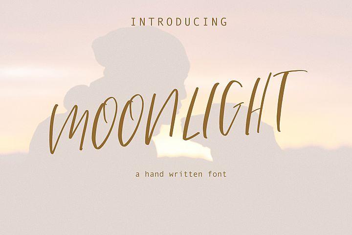 Moonlight Hand Written Font