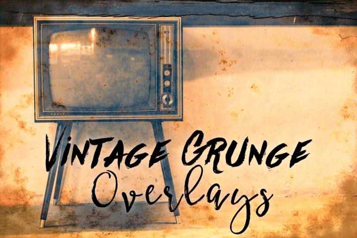 Grunge Textures - Vintage Grunge Transparent Textures