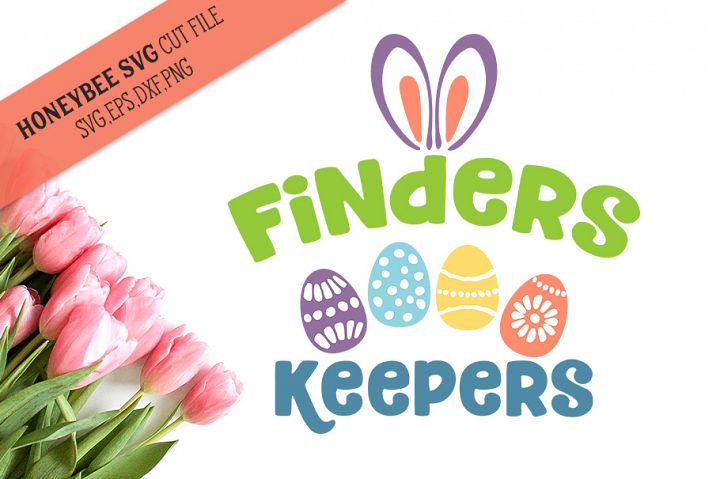 Finders Keepers SVG Cut File