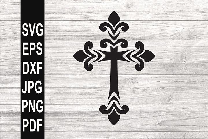 Cross SVG | Filigree cross SVG