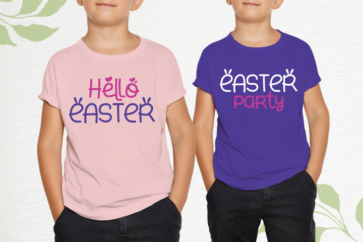 Small Bunny - Display Font For Valentine & Easter Season example image 3