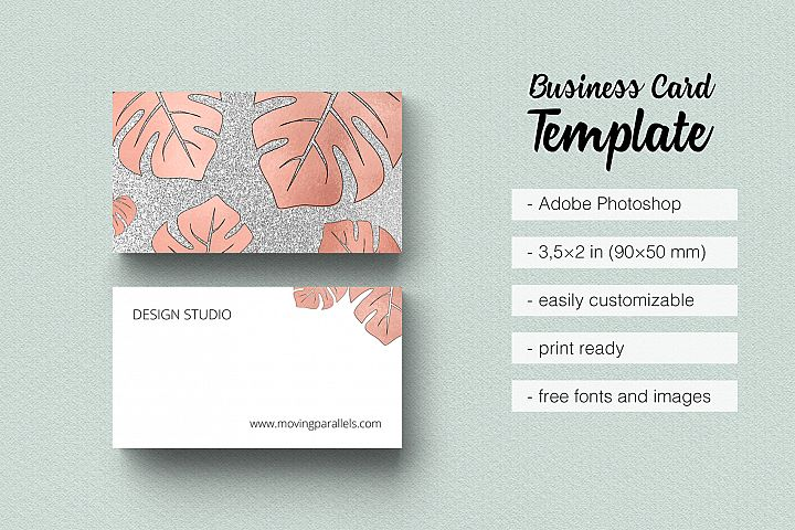 Business cards design bundles rose gold foil marble business card moving parallels templates business cards colourmoves