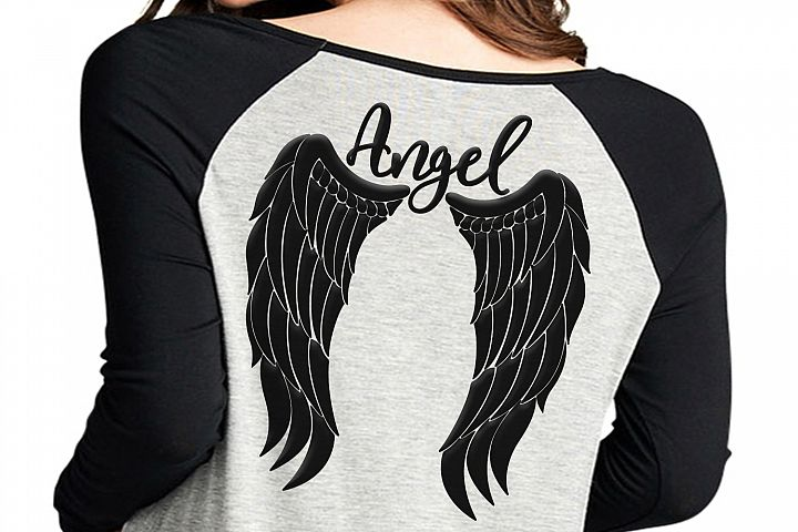 Angel wings svg, angel svg, feather wings svg, angel jpg, angel wings shirt design, angel clipart, wings svg, dxf, png, cricut file,clip art