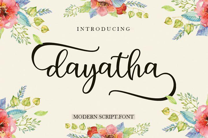 Dayatha Script