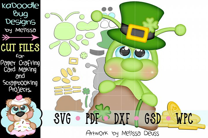 Bag Of Gold Cricket Cut File - SVG PDF DXF GSD WPC