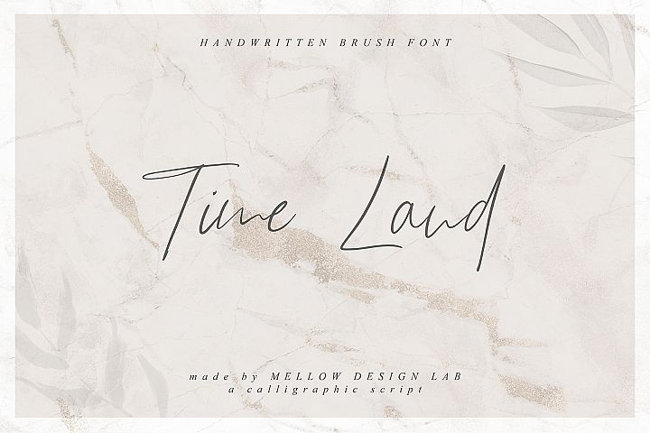 Time Land Font