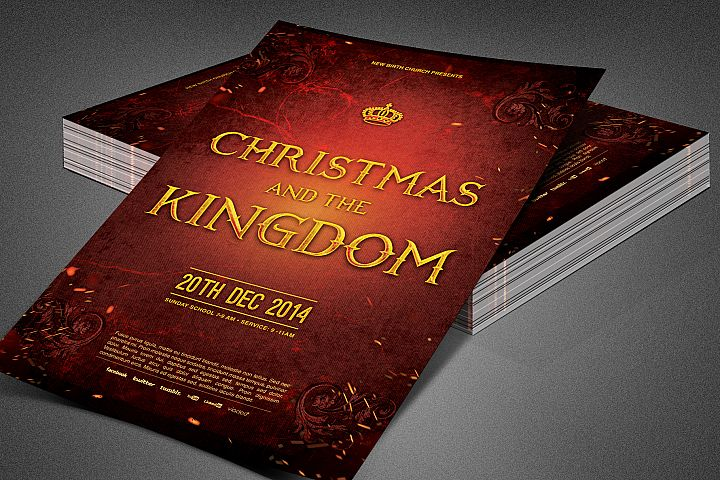 Christmas and the Kingdom Flyer