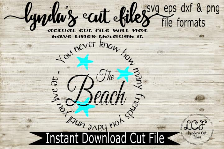 Beach Friends//Summer//SVG//DXF//EPS