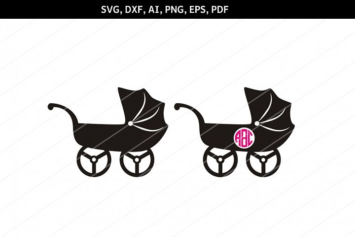 Baby shower SVG, Baby stroller svg,Baby pram,Cricut files