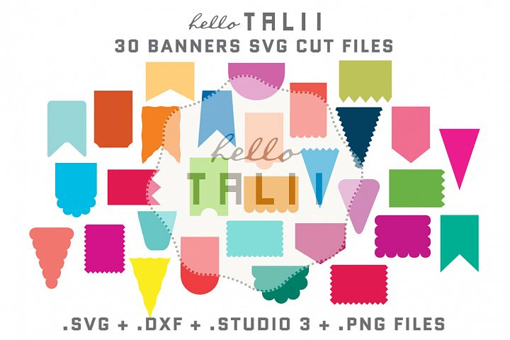 Banners SVG Cutting Files BUNDLE