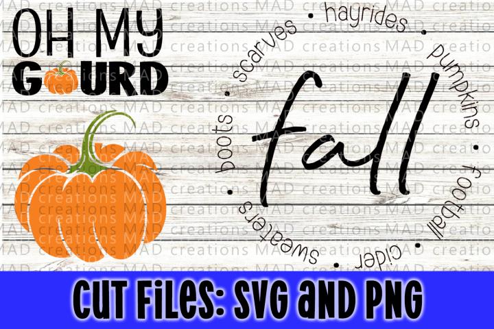 Pumpkin Halloween Fall Bundle- Cut File