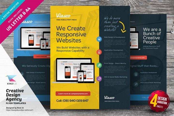 Creative Design Agency Flyers