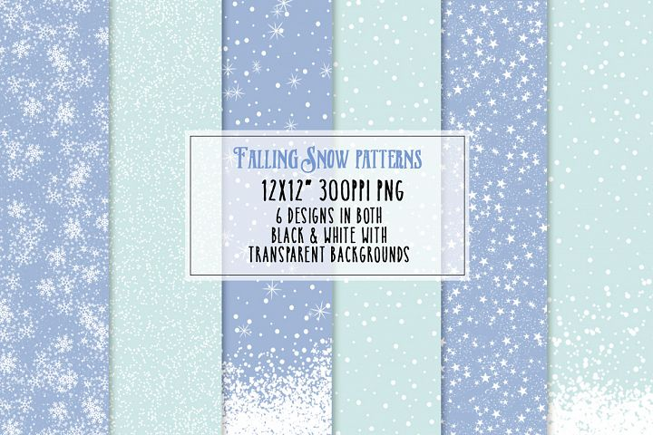 Falling Snow Patterns