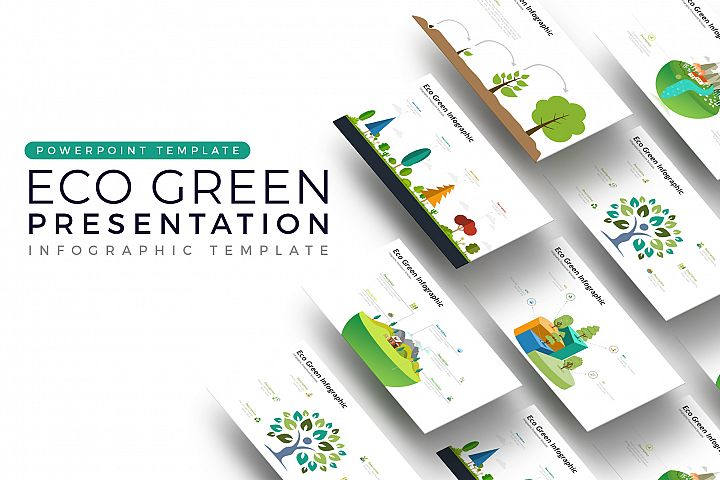 Eco Vector Presentation - Infographic Template
