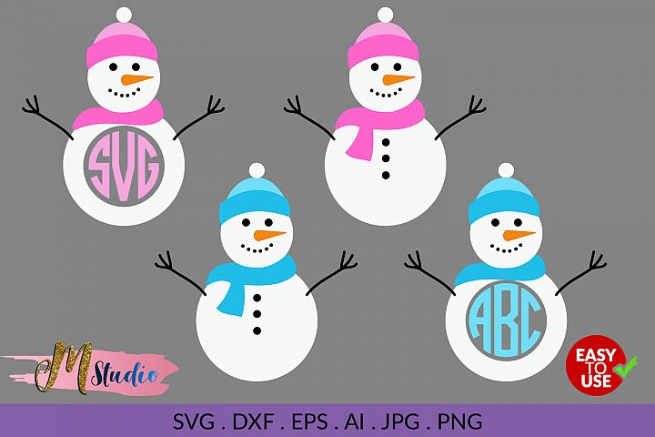 Snowman svg, for Silhouette Cameo or Cricut example