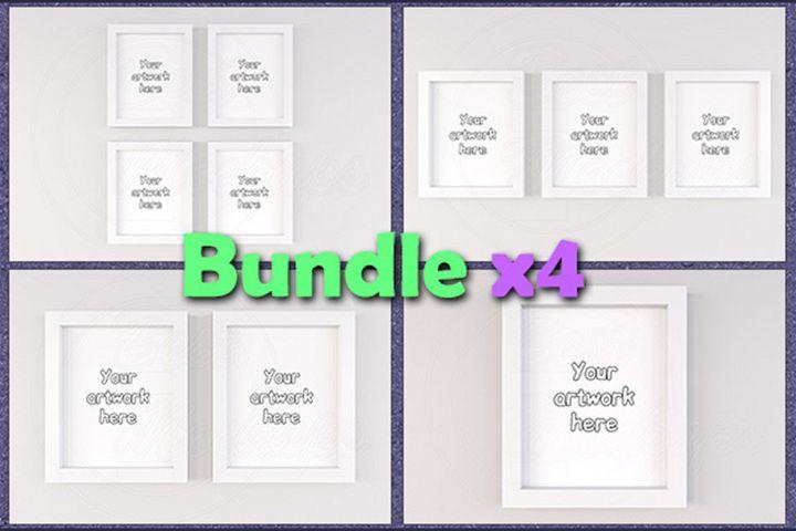 Mockup general frames 8x10 BUNDLEx4