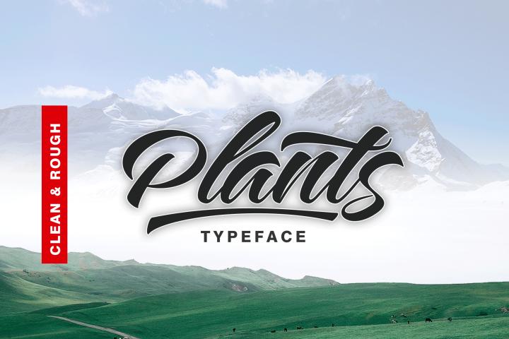 Plants FontDuo