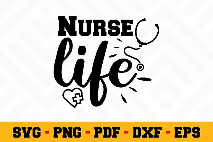 Nurse SVG Design n598 | Nurse SVG Cut File