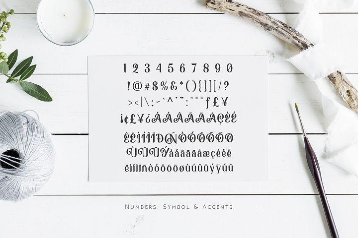 Monabelia Typeface example image 7
