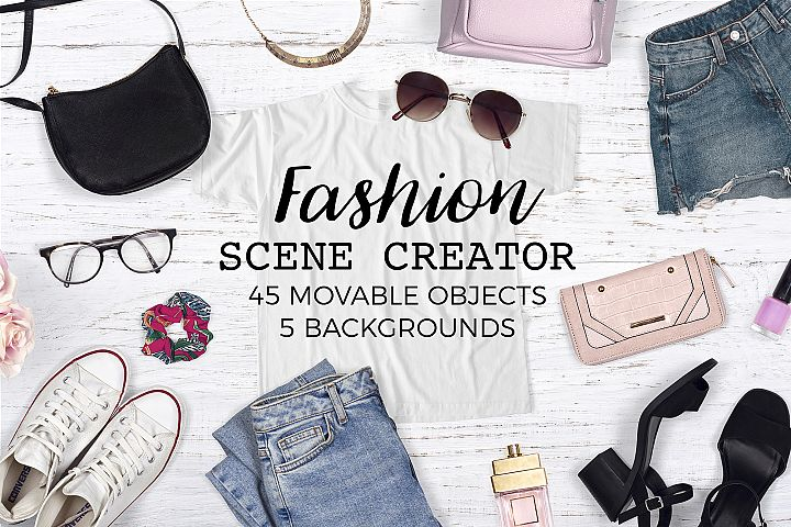 Fashion Scene Creator