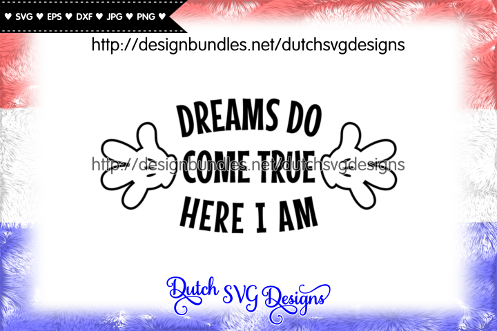 Cutting file Dreams, dreams svg, wish svg, baby svg