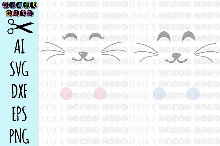 Bunny Bag svg, Cute Bunny Face svg, Rabbit Face SVG