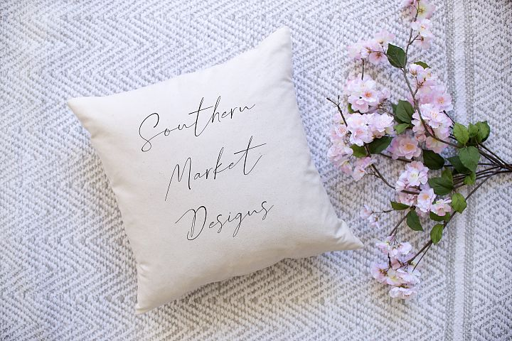 Spring Mockup | Pillow Mockup | Mockup | Throw Pillow Mockup