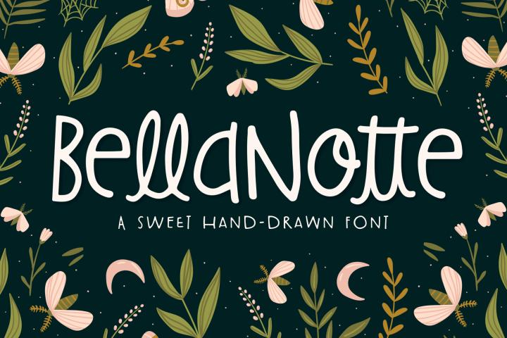 BellaNotte Font