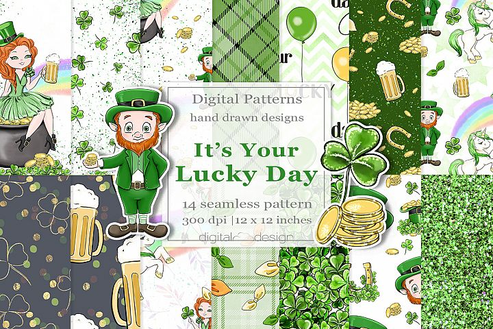 Its Your Lucky Day - Digital Pattern