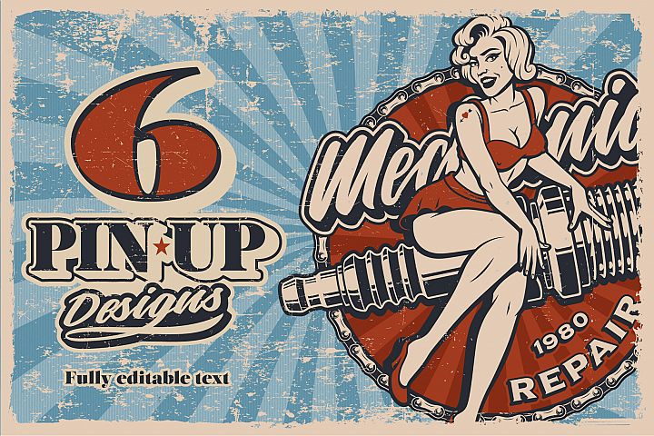 Pin Up Girls Bundle