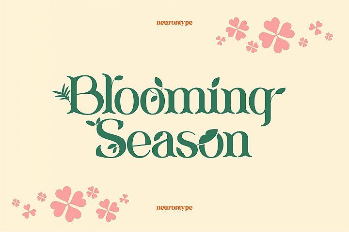 Blooming Season Font