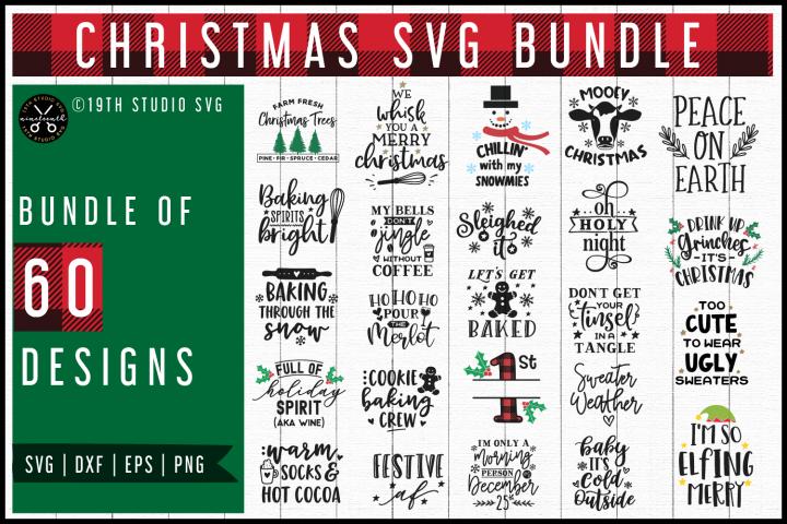 Christmas SVG Bundle | MB56