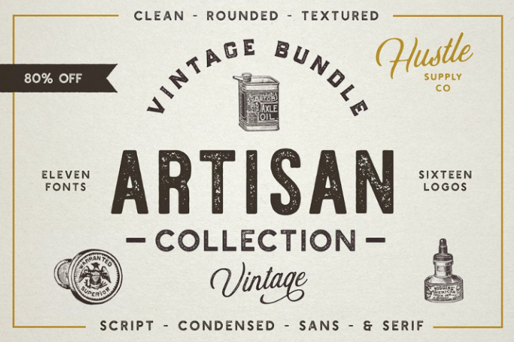 The Artisan Collection - Font Bundle