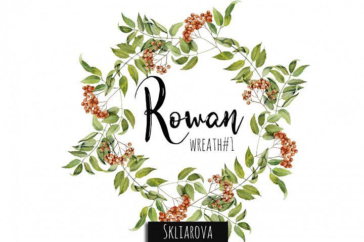 Rowan Wreath #1