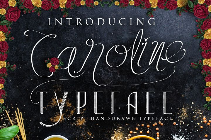 caroline typeface