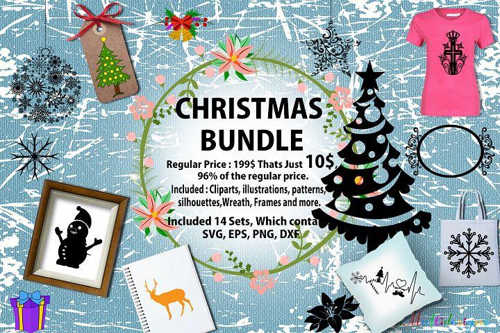 Christmas Bundle / Christmas SVG bundle / christmas vectors